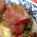 いまきん食堂 - 脂肪のない赤身は肉本来の味がします