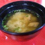 いまきん食堂 - 味噌汁