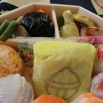 膳まい - 東京駅限定、銀の鈴寿司弁当(寿司岩)