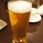 新中国料理 HARAKAWA - ドリンク写真:生ビール