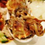新中国料理 HARAKAWA - ニシ貝の紹興酒漬け