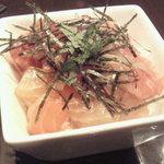 キッチンバー KANMI ~神味~ - まかない丼(海鮮バージョン)♪
