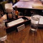 CAFE RIGOLETTO - お勘定はテーブルで