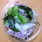 サラダカフェ - 菜の花と彩野菜のサラダ