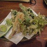 7386152 - 春野菜の天ぷら
