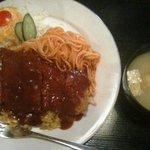 かみんぐ - トルコライス(800円)
