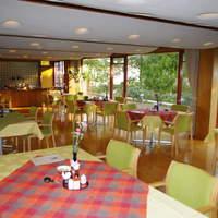 大正屋 - 『レストラン山茶花』緑・自然光あふれゆっくりとしたランチをお召し上がり頂く事が出来ます。