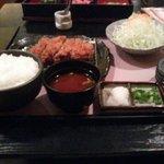 やはらかとんかつ綾 - 料理写真:厚切りひれかつ定食膳