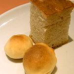 トラットリア パパミラノ - パン