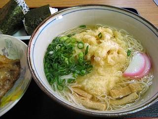 お食事処ひろ - 天ぷらにゅうめん
