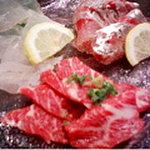 すし屋の中川 - 料理写真:刺身三点盛