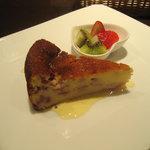 ガルボ - ラズベリーのリコッタチーズケーキ