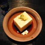 山家料理 鳴瀬 - 豆乳豆腐