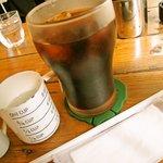 カフェ メリメロ - 大きめのアイスコーヒー