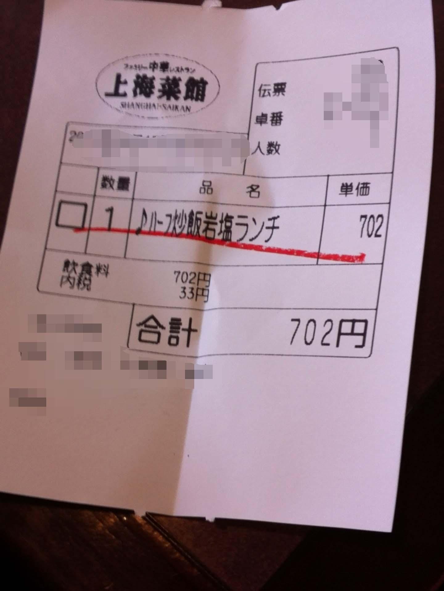 上海菜館 久喜駅東口店