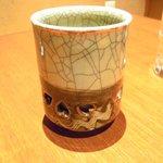 螢月 - 湯のみが二重構造、素晴らしい被災地の陶器