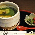 有閑さくら茶屋 - 【2011年3月】 抹茶ぜんざい 788円