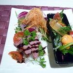 アンクィール - 2100円和がメインの和洋折衷ランチ:2つ目の前菜
