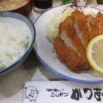 かつ亭 - ロースかつ定食950円