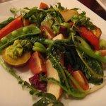 ナポリ料理のお店 バンビーノ - お野菜のサラダ