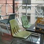 デモデ クイーン - テラス席もあります