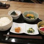 東麻布 逢坂  - 鯛茶漬け