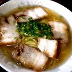 羽根屋 - チャーシュー麺