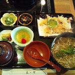 7543073 - ランチに天ぷらそばのセット