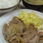 軽食カーム - 生姜焼き定食