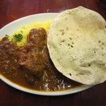 カフェ・レッドブック - インド風チキンカレー