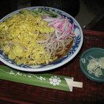 将門蕎麦 - 冷やしたぬき蕎麦(大盛り)700円