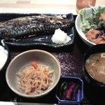 こちら丸特漁業部 - 宮城の「金華さば塩焼き定食」
