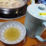 水たき 長野 - 水炊きは酢じょうゆで食べます