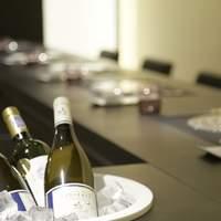 豊富なグラスワインがお料理を引き立てます‼️