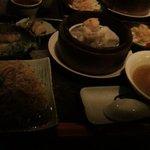 香港茶廊 - えびそばのついたセット