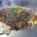 一休 - そば肉玉シングル550円