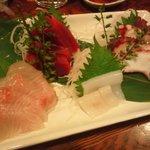 金太郎 - 鮪、蛸、烏賊、白身の刺身