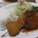 かつ亭 - 2011/05 Bランチ650円