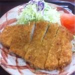 とんかつの竹亭 - 上とんかつ定食 1000円
