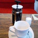 ペリカンバーガー - コーヒー(イワタオーガニック)