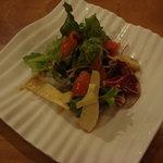 カフェカリーノ - コースのサラダ