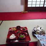 東林院 - 宿坊の夕食