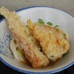 宮川製麺所 - うどん ひや ちくわ・かぼちゃ