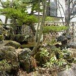 眺庭庵 益成屋 - 店内からの風景@2011