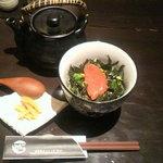 Wan - 明太子茶漬け580円