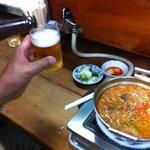 焼肉・ホルモン焼 双葉 - 肉なべで乾杯(^^)/