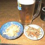 田麦そば - とりあえず・・ビール♪