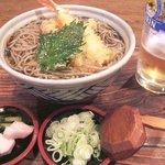 田麦そば - 天ぷら蕎麦