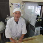 丸池製麺所 - 山本氏