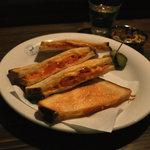 いるか喫茶バー - トマトチーズトースト村上レシピ風(700円)